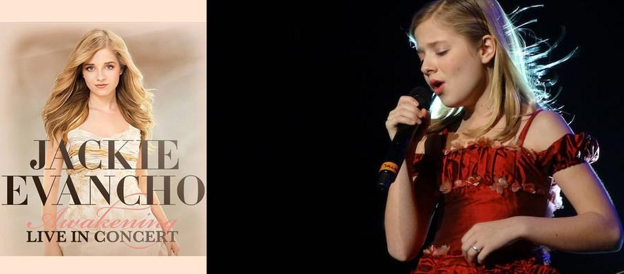 Jackie Evancho at Mead Theater