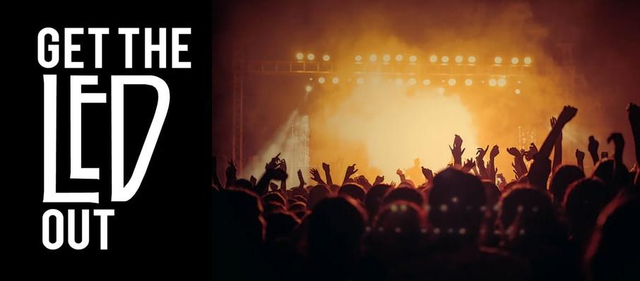 Get The Led Out - Tribute Band at Fraze Pavillion