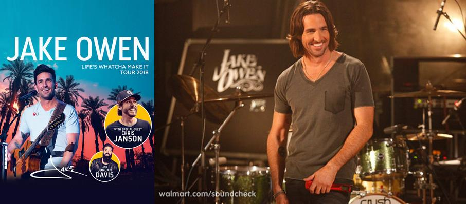 Jake Owen at Fraze Pavilion