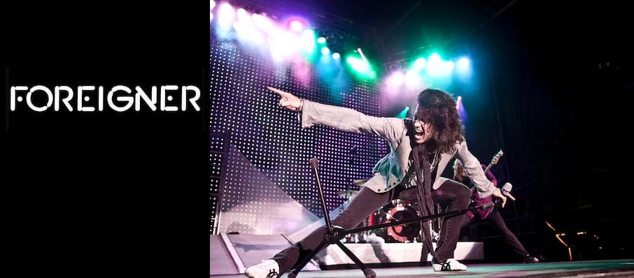 Foreigner at The Rose Music Center at The Heights