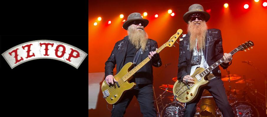 ZZ Top at The Rose Music Center at The Heights