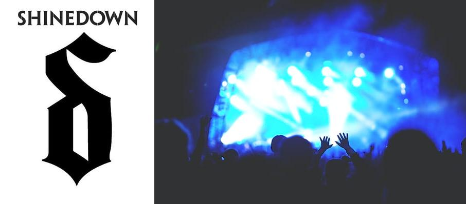 Shinedown at EJ Nutter Center