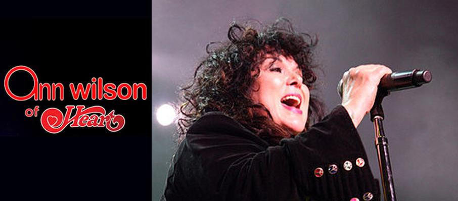 Ann Wilson at The Rose Music Center at The Heights