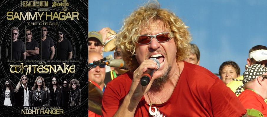 Sammy Hagar at The Rose Music Center at The Heights