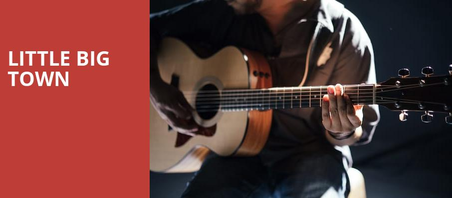 Little Big Town, Fraze Pavilion, Dayton