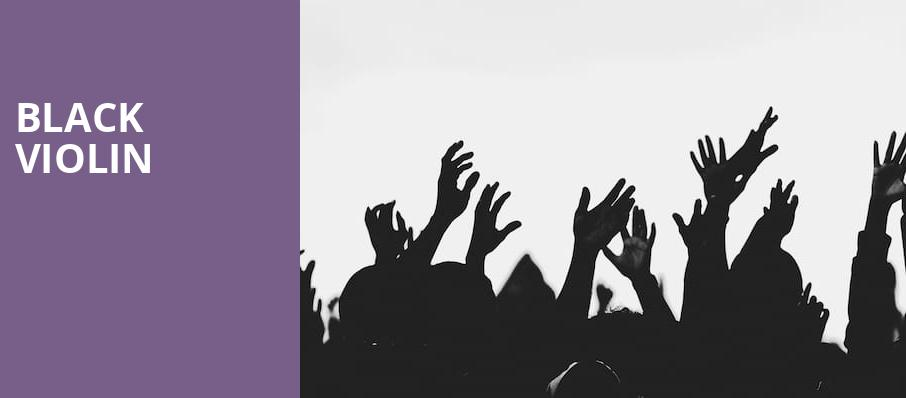 Black Violin, Mead Theater, Dayton