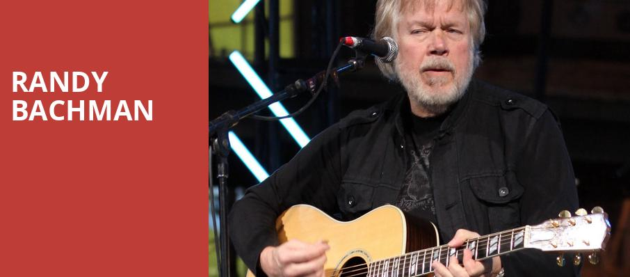 Randy Bachman, The Rose Music Center at The Heights, Dayton