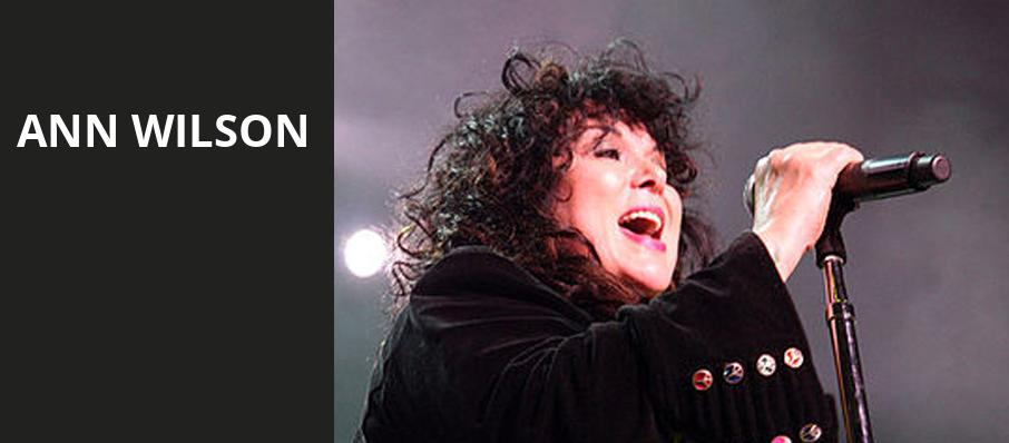 Ann Wilson, The Rose Music Center at The Heights, Dayton