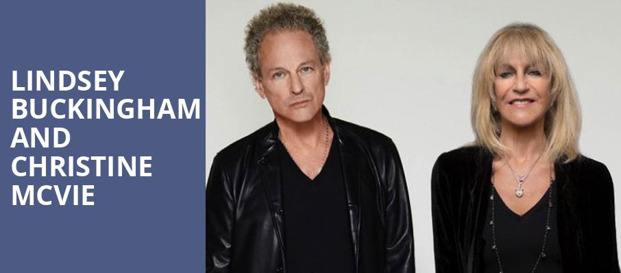Lindsey Buckingham and Christine McVie, The Rose Music Center at The Heights, Dayton