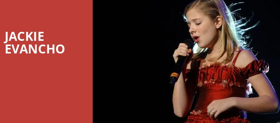 Jackie Evancho, Mead Theater, Dayton