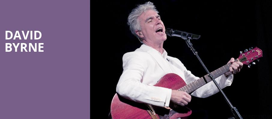 David Byrne, The Rose Music Center at The Heights, Dayton