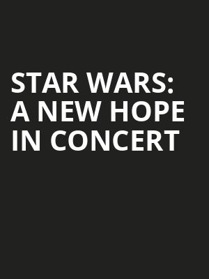 Star Wars A New Hope In Concert, Mead Theater, Dayton